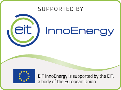 Supported by InnoEnergy Logo Europa