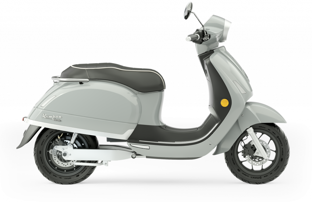 E-Roller Model 54 inspire von Kumpan electric grau
