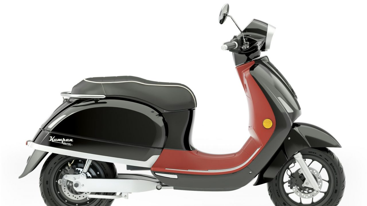 Kumpan electric E-Roller Model 54 iconic schwarz rot